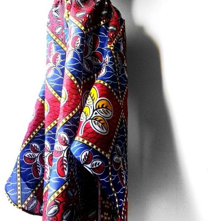 44   アフリカ布バタフライパンツ