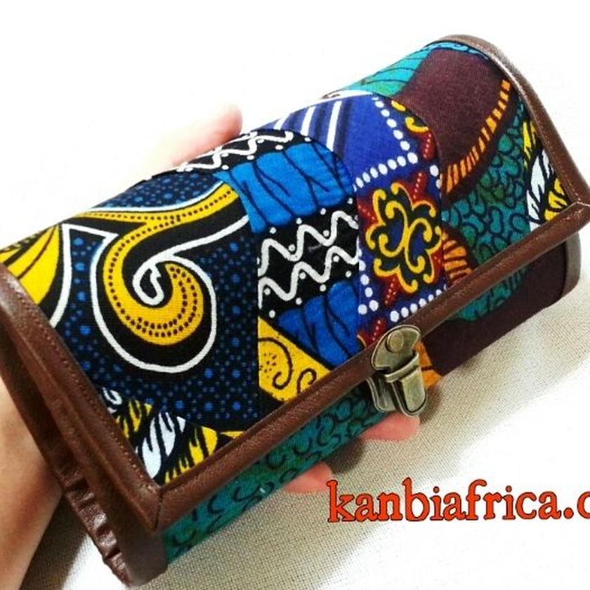 ~アフリカ布長財布~