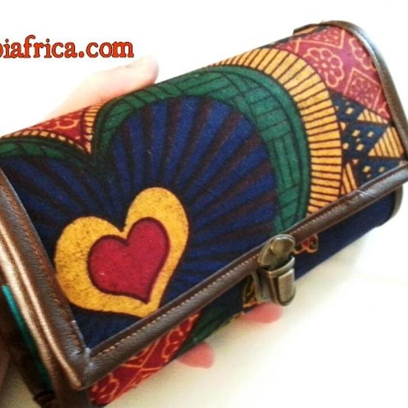 92~アフリカ布長財布~
