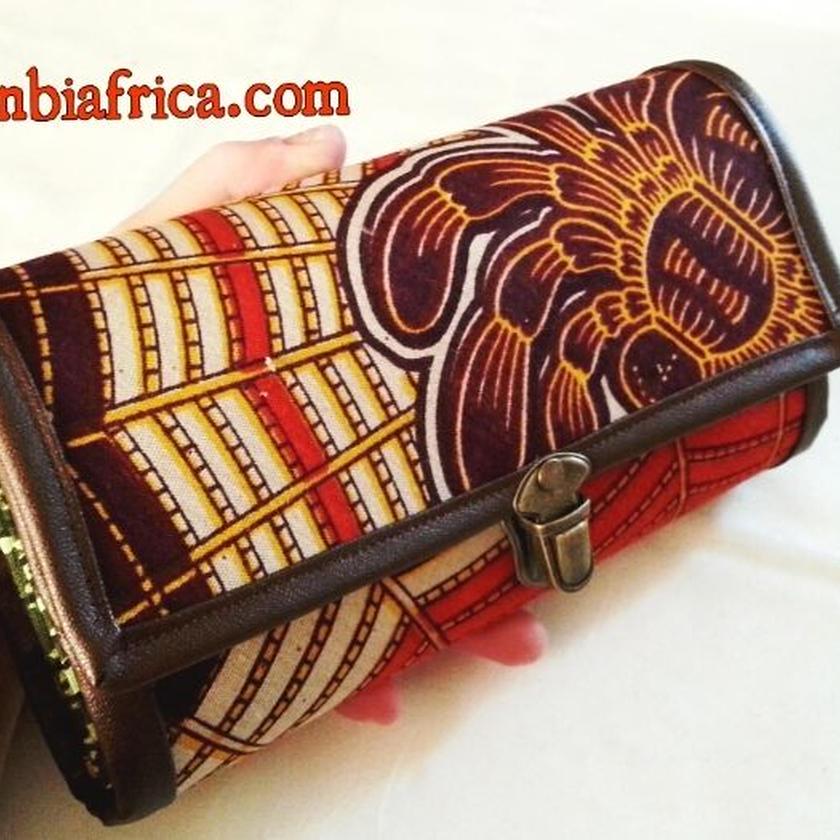 96~アフリカ布長財布~