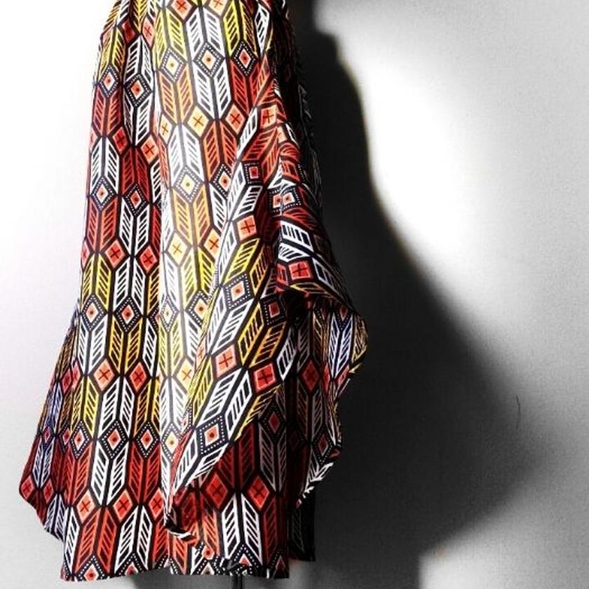 45   アフリカ布バタフライパンツ