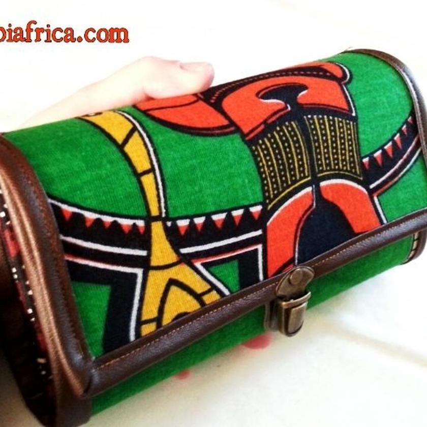 88~アフリカ布長財布~