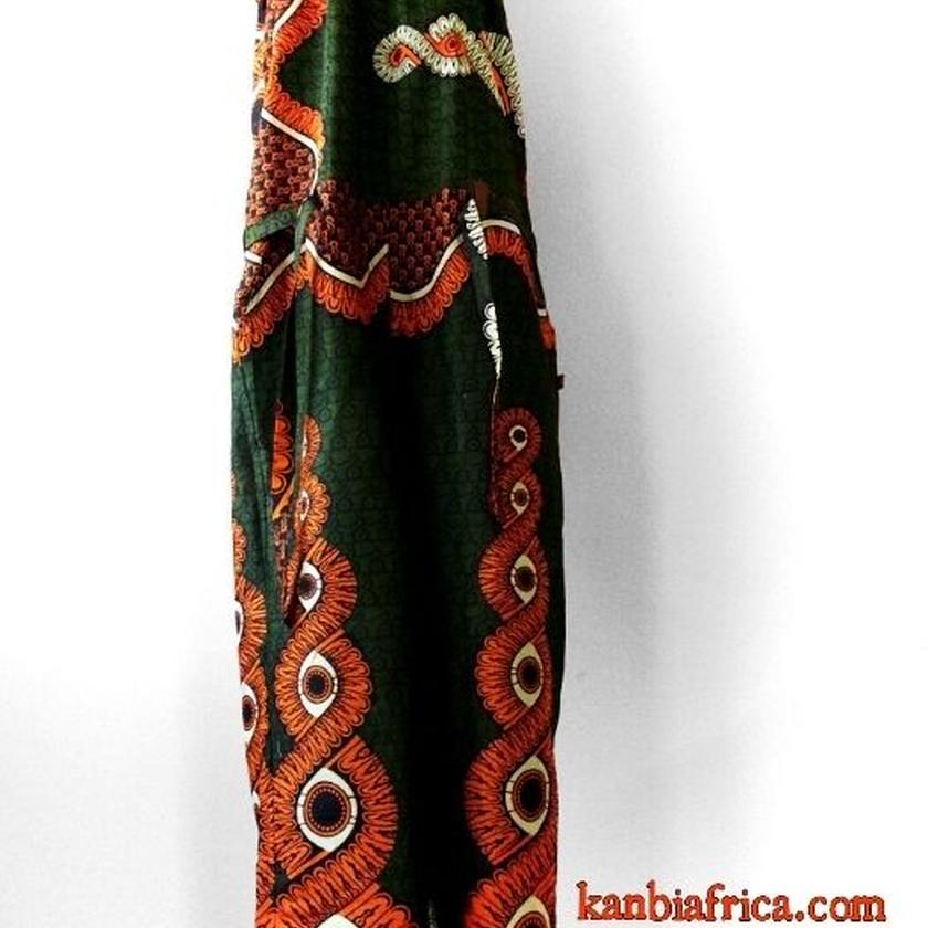 35    アフリカ布オールインワン