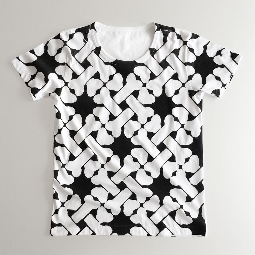 Tシャツ 骨ちぇっく