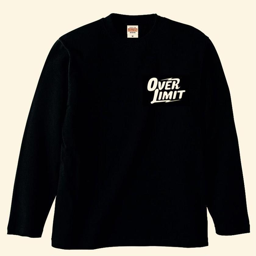 OVER LIMITロゴ Long sleeve T-shirt