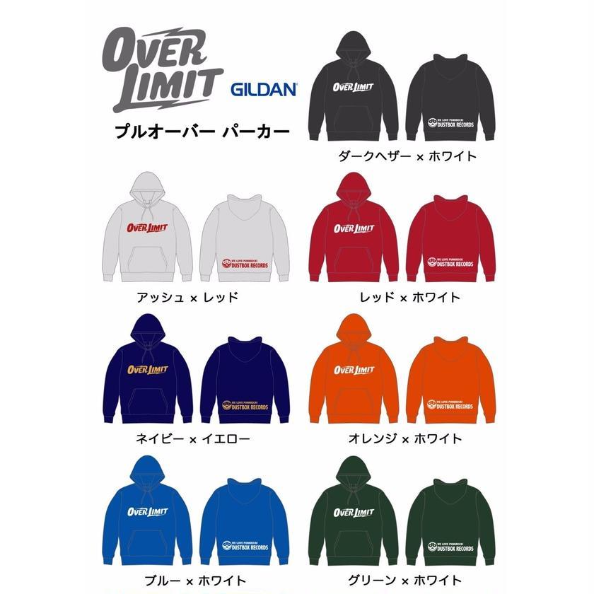 【期間限定受注】OVER LIMIT 2017 冬 プルオーバーパーカー