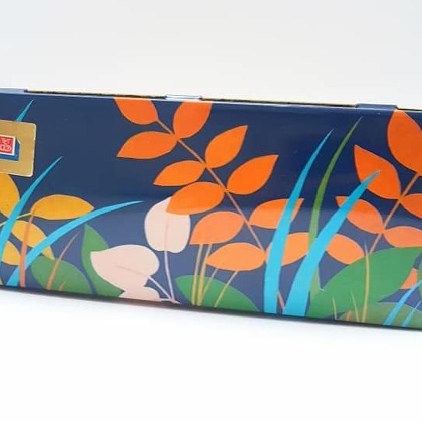 1960's Op art ドイツ Bahlsen社製クッキー缶/ヴィンテージ缶 Eva Grossberg デザイン