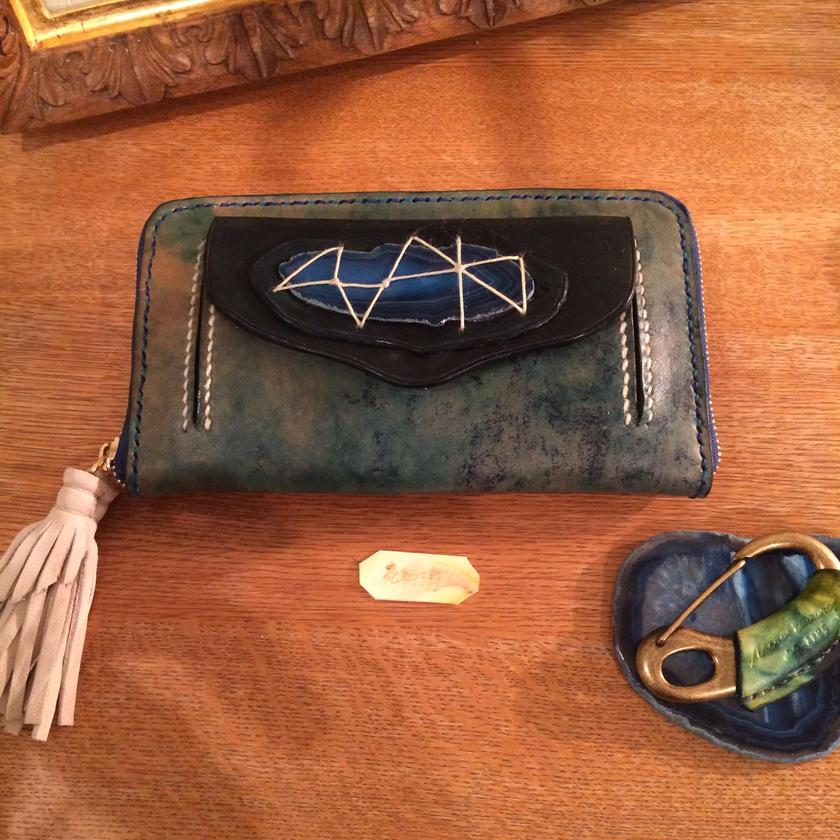 Marmo  portafoglio/A(マル モ ポルタフォリオ )大理石の長財布