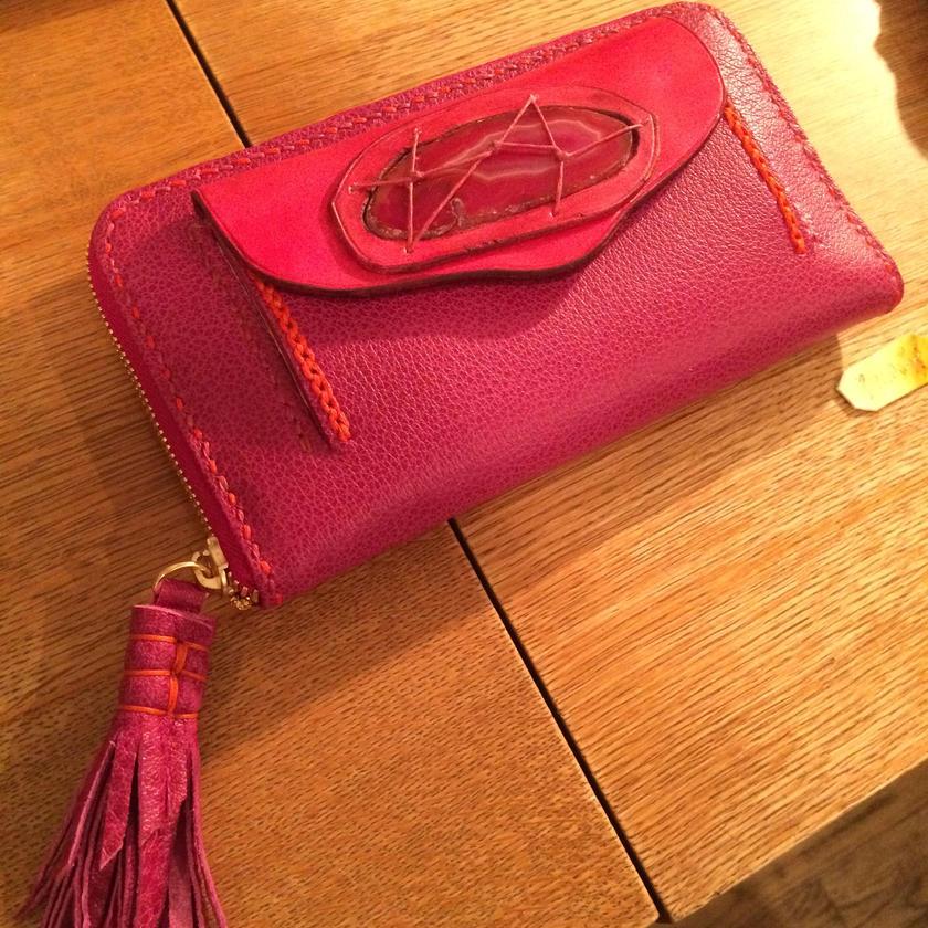Marmo portafoglio/C(マルモ ポルタフォリオ) 大理石の長財布