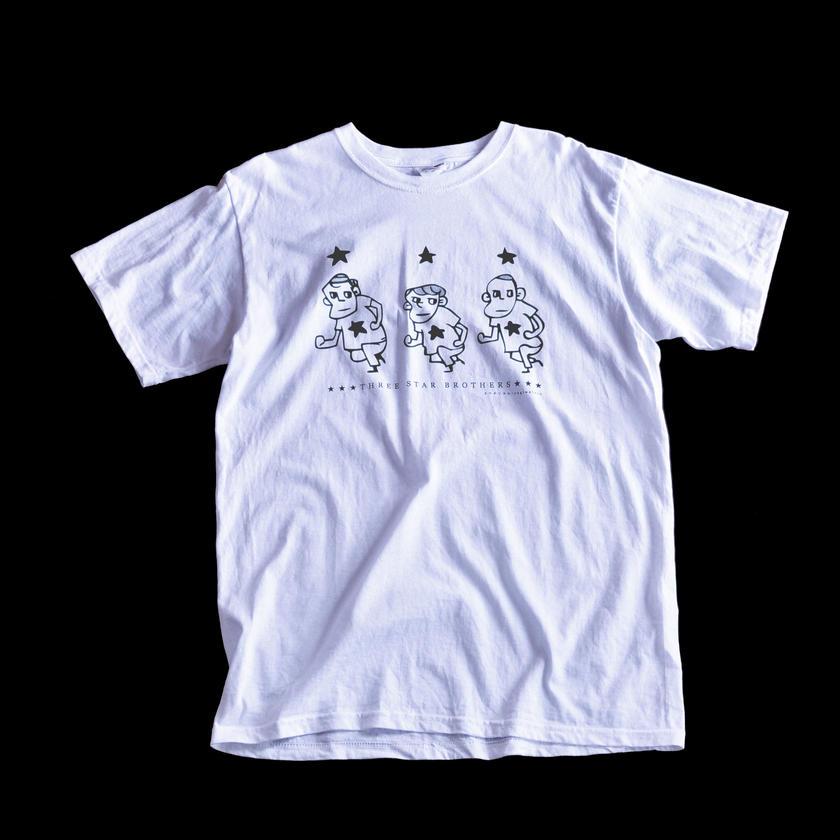 【Tシャツ】三ツ星三兄弟