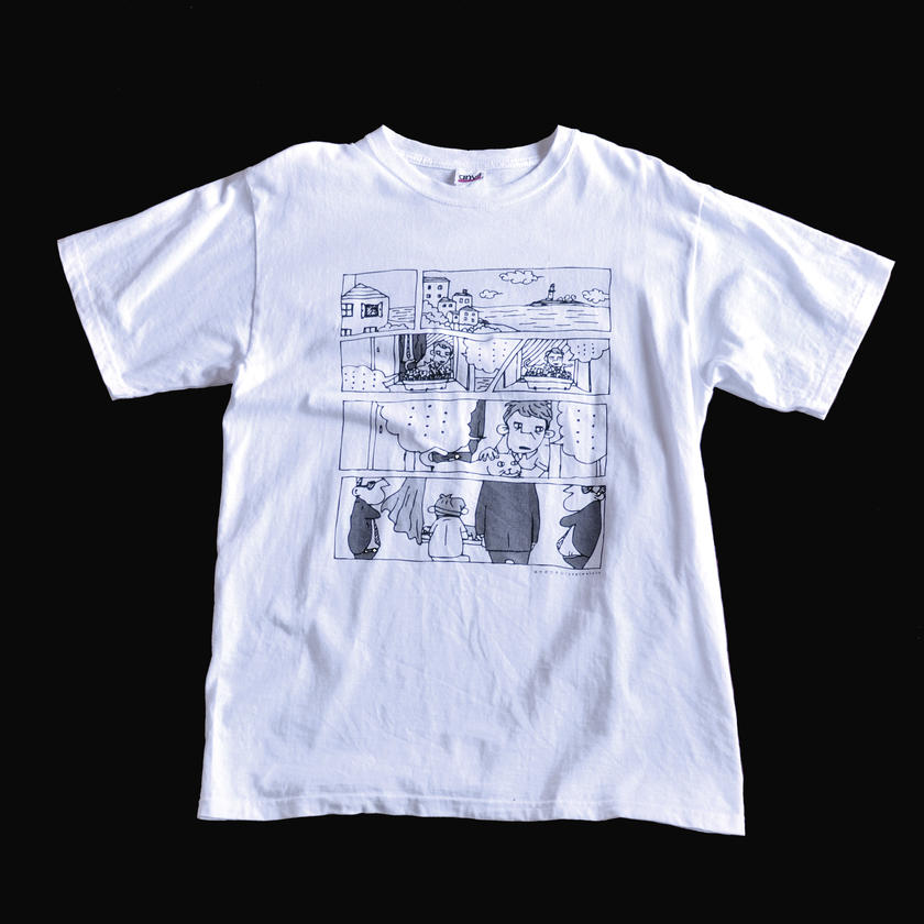 【Tシャツ】サスペンス漫画調