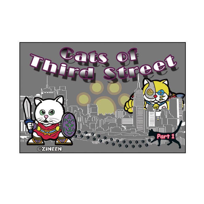 第1弾 キャッツオブサードストリート(海外版ニャンコ)