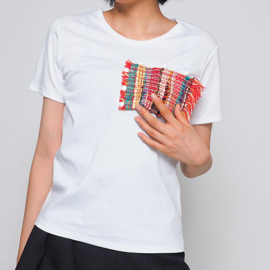 MATEREAL / HEART (ladies'  t -shirt)
