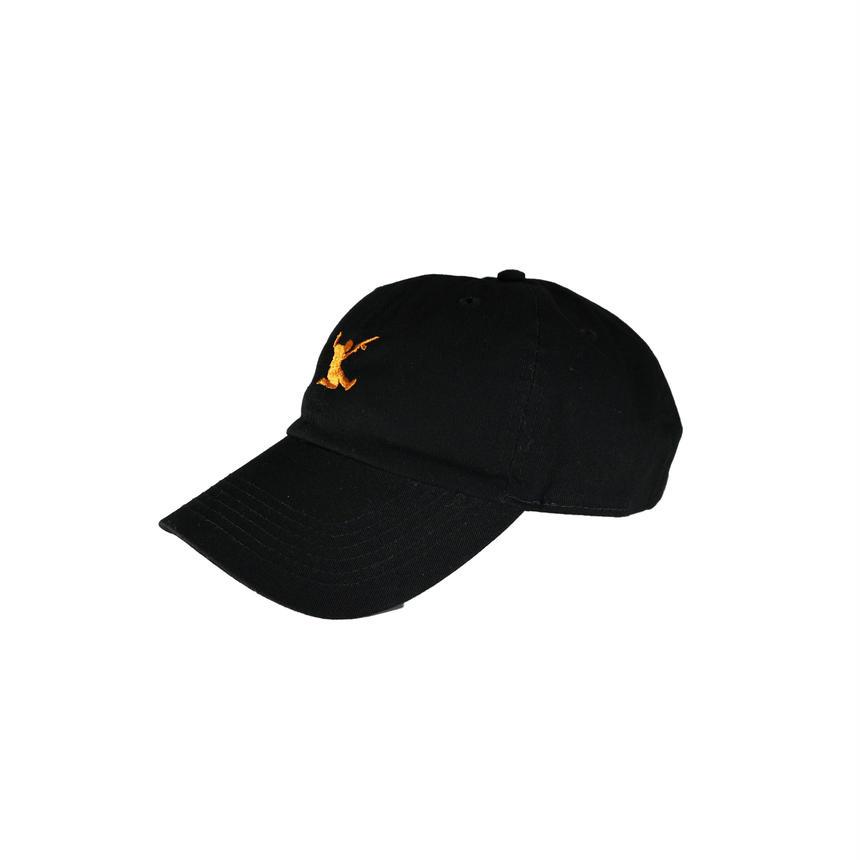 """Da  Steeler Hat  """"BLK * ORANGE"""""""
