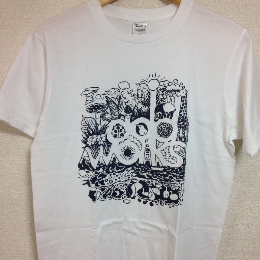 LOGO T-shirts(White)