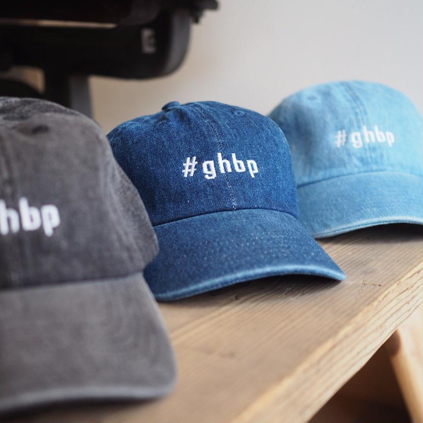 #ghbpデニムキャップ