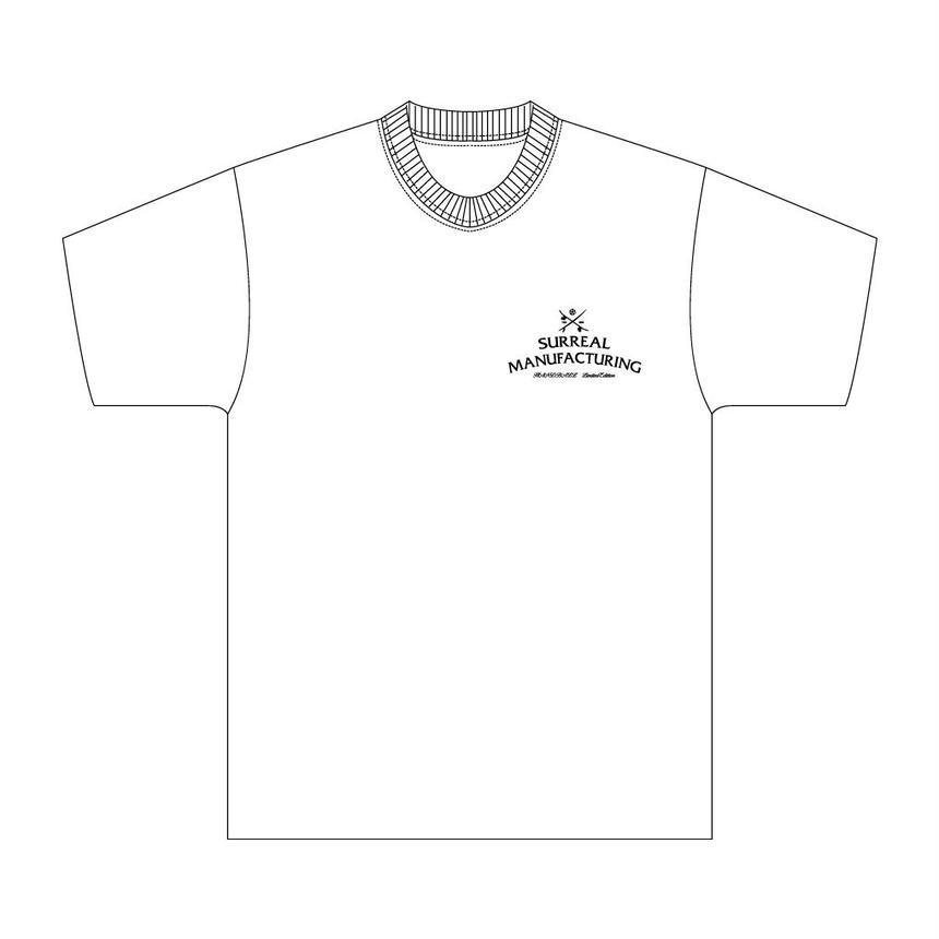 【受注生産】SURREAL×HAND TO HANDコラボレーションTシャツ