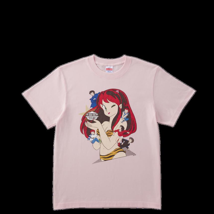 【特別価格】コラボTシャツ 原画デザイン ピンク ユニセックスS