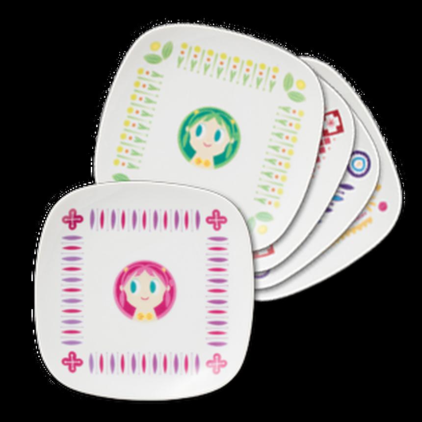 【特別価格】限定コラボ皿  オリジナルデザイン  5枚セット
