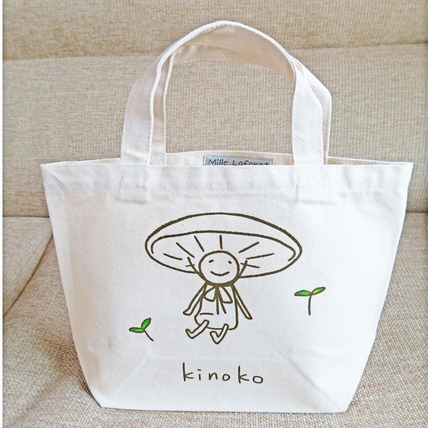 のほほん『kinoko』のミニトートバッグ