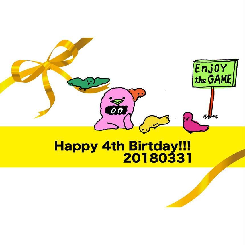 3月31日(土)あだちのYEAH!!! 4周年パーティーTICKET