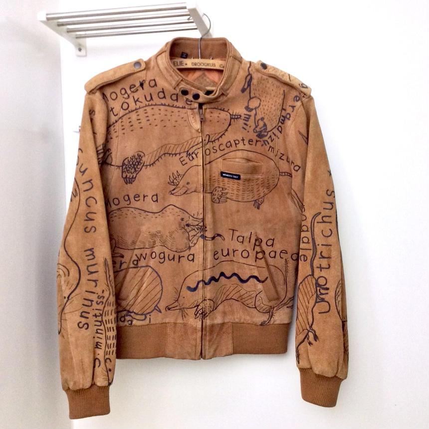 OMA overdrawing 革|leather 07 「モグラの仲間|moles and associates」