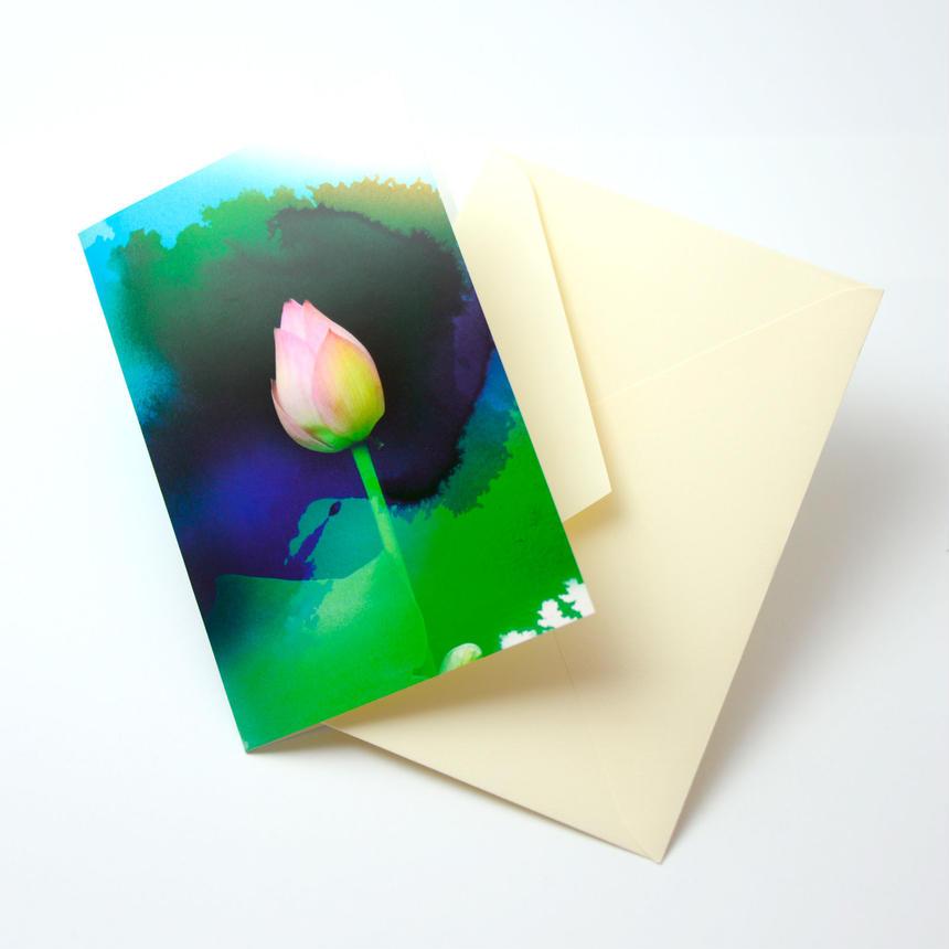 Bloom Card 04(睡蓮)