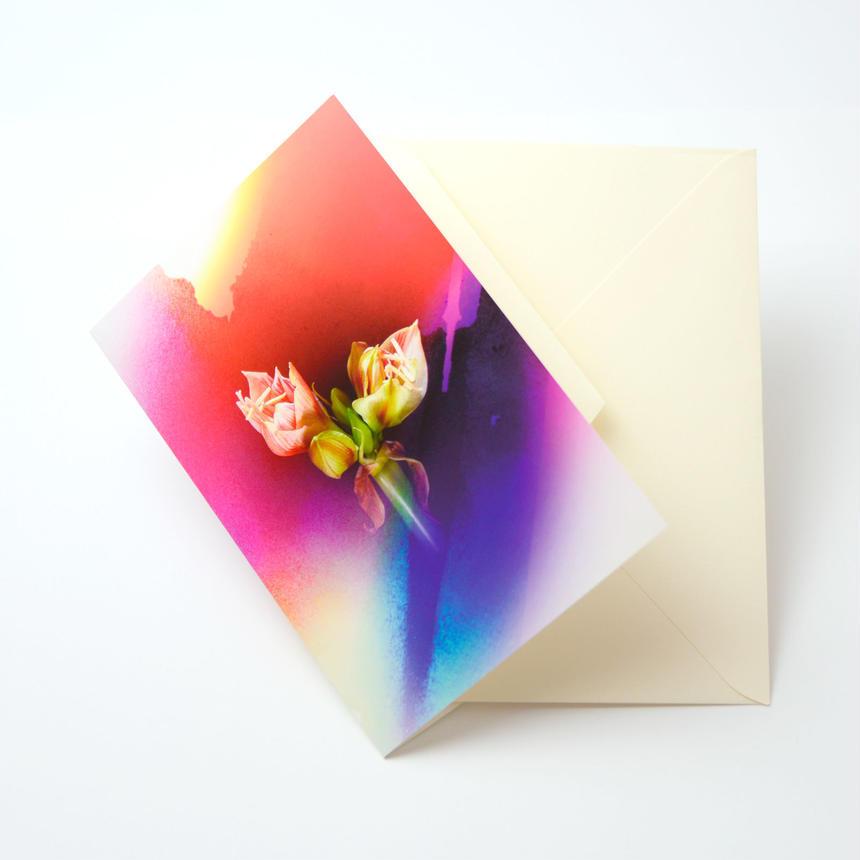 Bloom Card 05 (アマリリス)