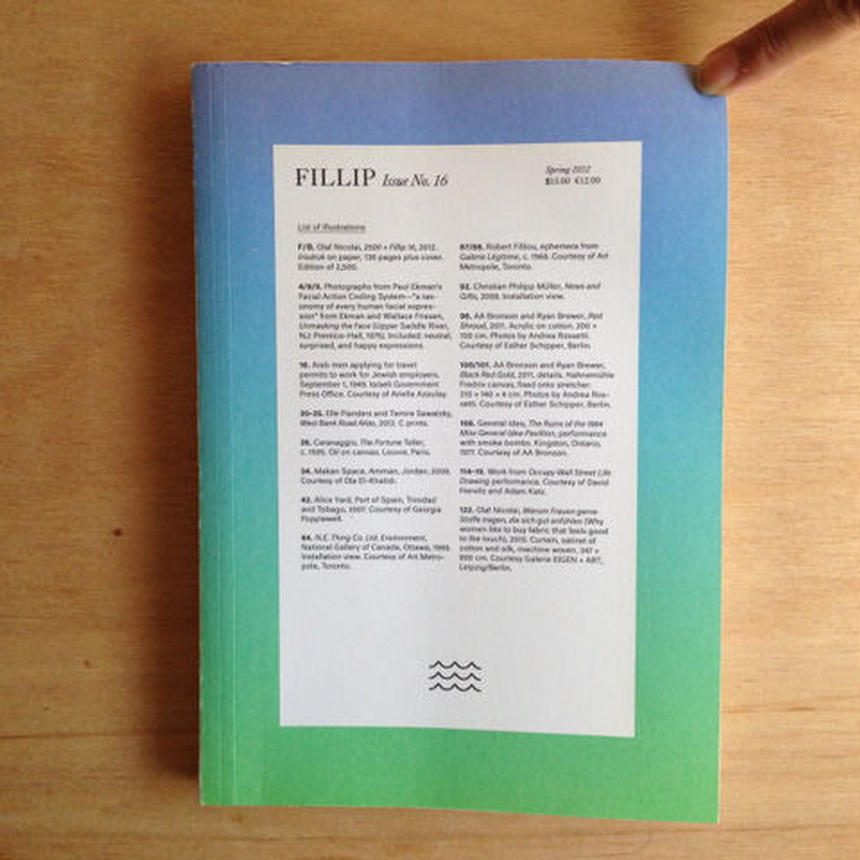 FILLIP issue no.16 Spring 2012