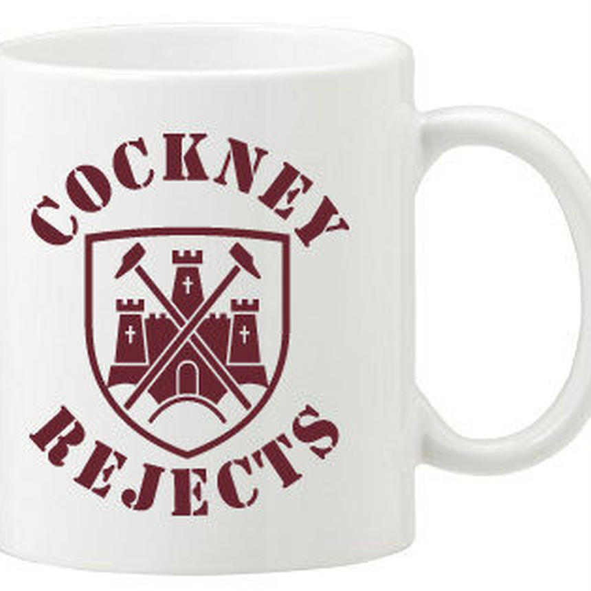 COCKNEY REJECTS Mug Cap (West Ham)