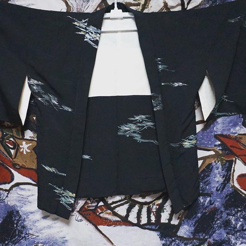 キラキラと美しい黒羽織