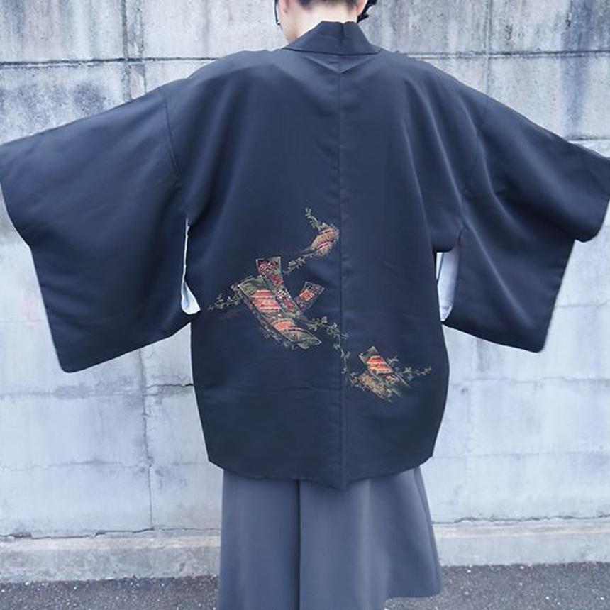 鮮やか刺繍羽織