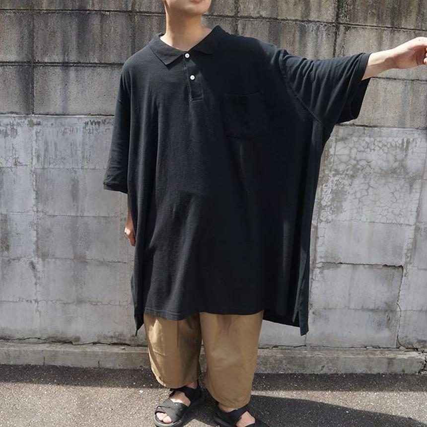 XXXXXXXXL半袖ポロシャツ(black)
