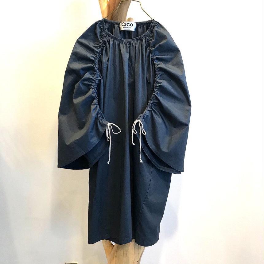 raglan shirring tunic