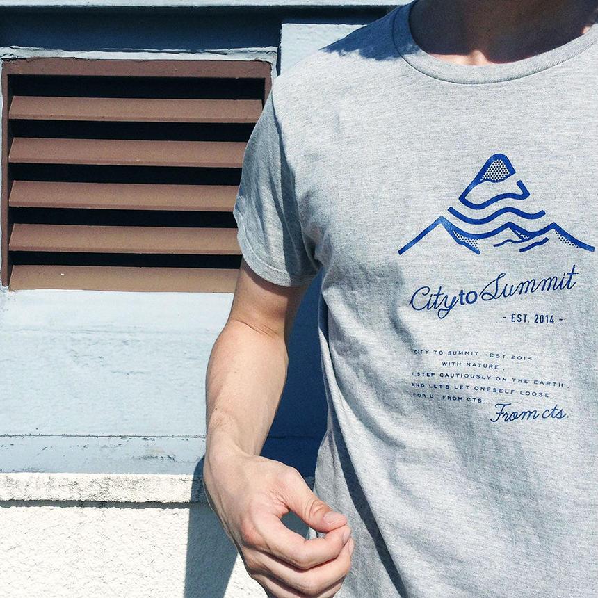 コットンロゴTシャツ XS