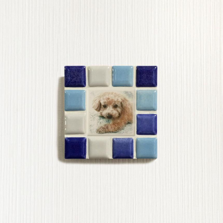 ブライトカラー/ブルー(S)◆Tile Picture Frame(S)/Bright Tone/BLUE◆