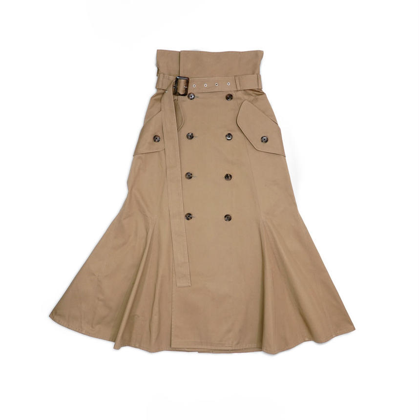Trench Skirt / BEG