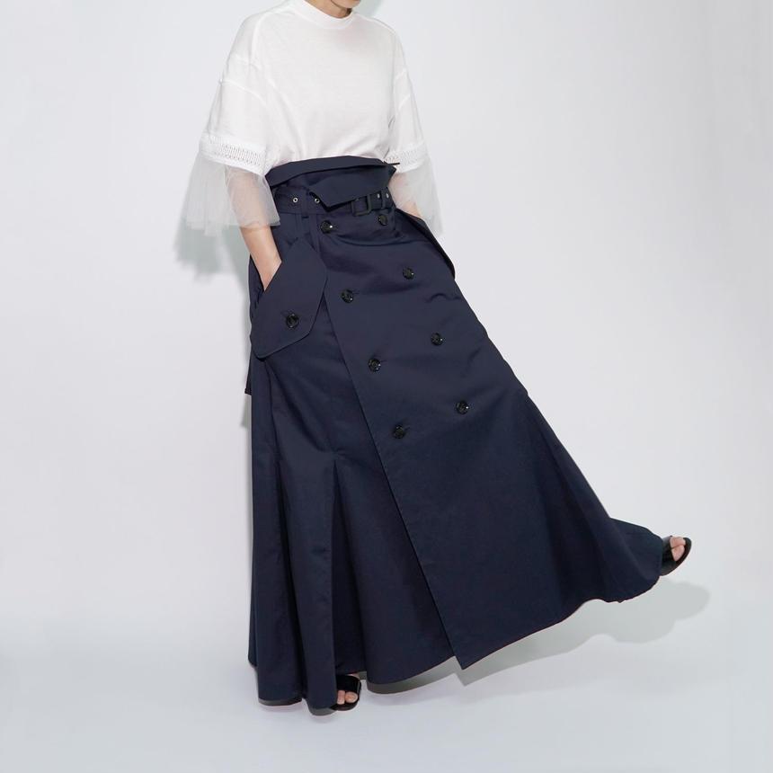 Trench Skirt / NVY