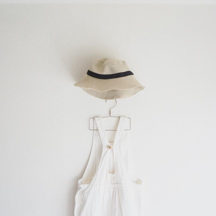 麻の帽子 size3
