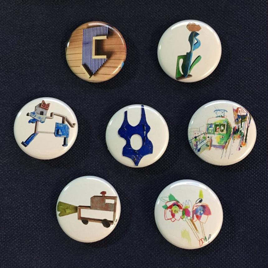 Taishi Omura Artworks Limited Badge Set
