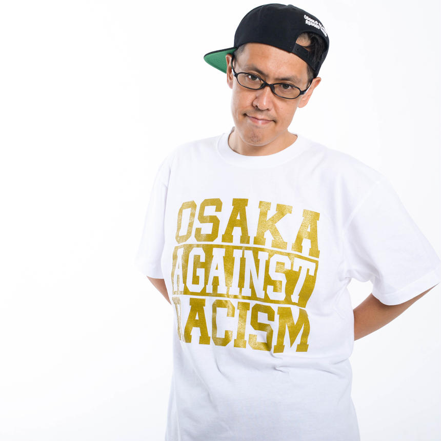 OSAKA AGAINST RACISM 2017 DJ KEN-BO Signature model (white)