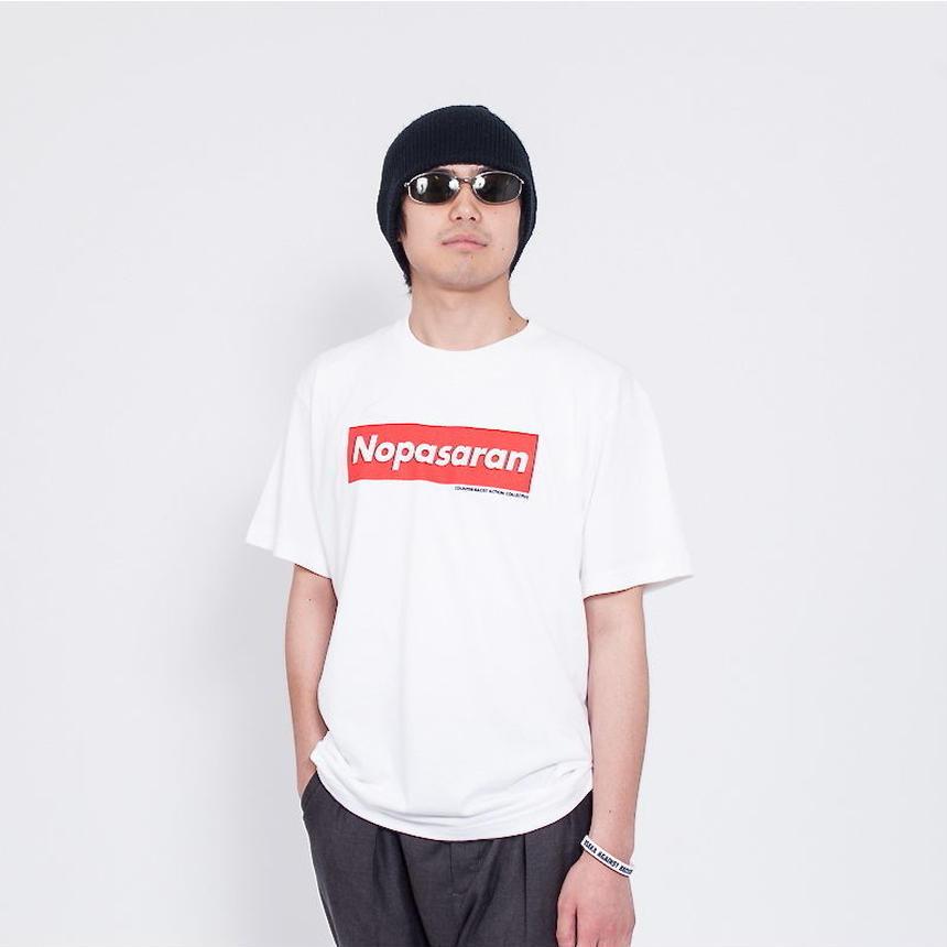 Tee: No Pasaran(ホワイト)