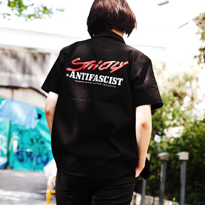 Strictly Antifascist black shirt