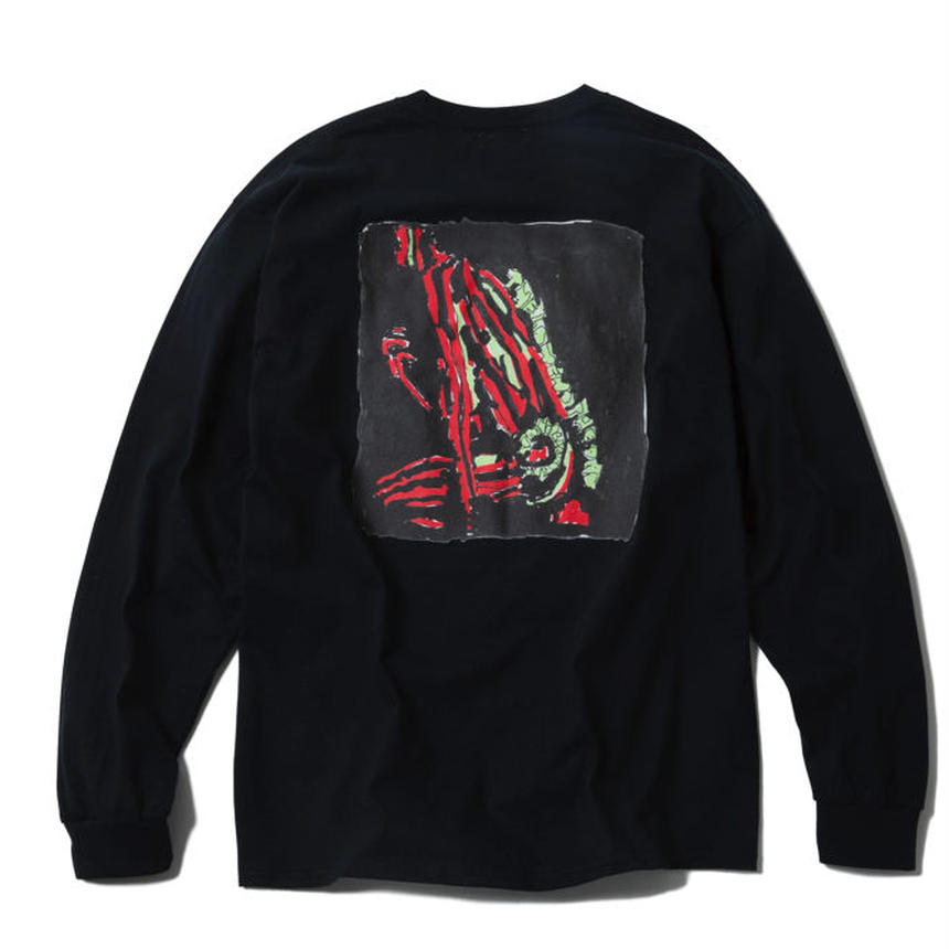 TRIBE LONG SLEEVE TEE : YUNG LENOX(BLACK)【CC17AW-010】