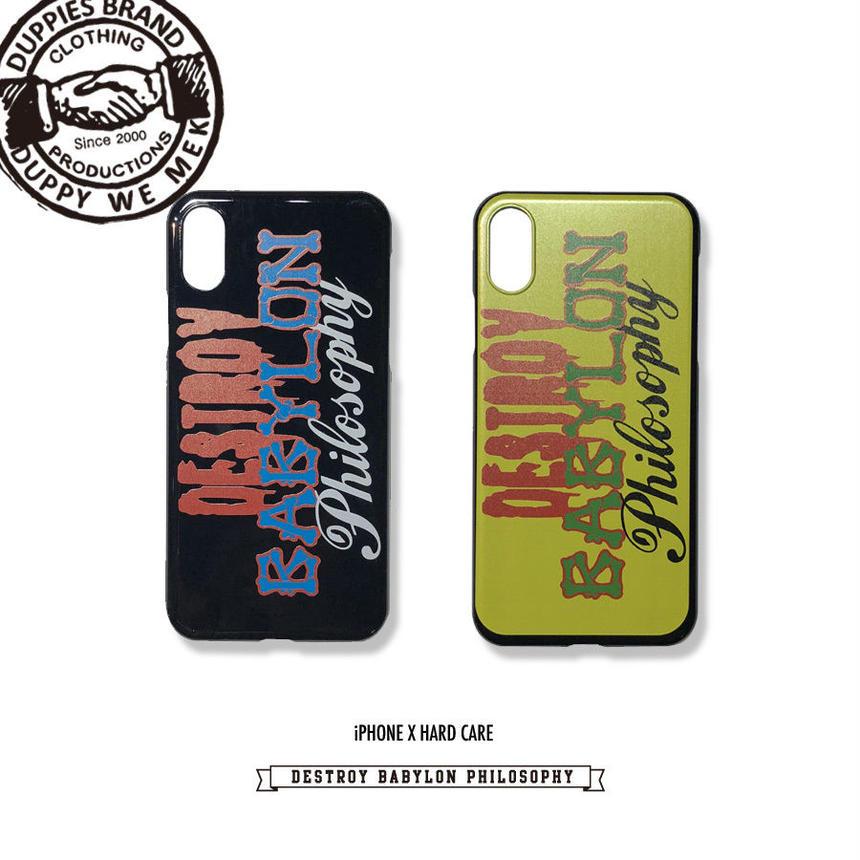 Destroy & Bones / iPhone X Hard Case