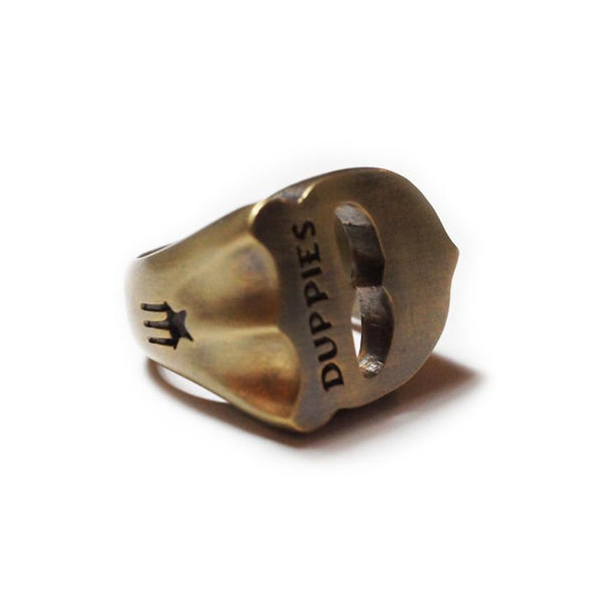 D Face / Brass Ring