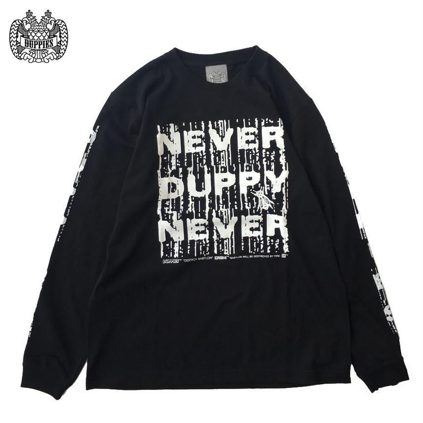 Never Duppy Never / Long Sleeve Tee Shirts