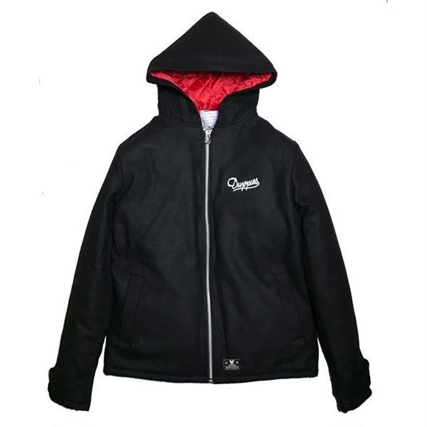 Melton Hooded Jacket