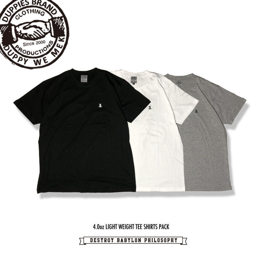Messenger / Light Weight Tee Shirts Pack