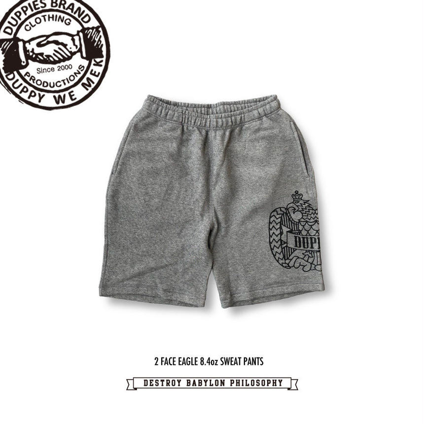 2 Face Eagle / 8.4oz Fine French Terry Sweat Shorts